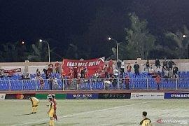 Demi saksikan timnas U-22, suporter Indonesia di Filipina cuti