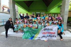 """BP Jamsostek Kanwil Bali-Nusra-Papua adakan """"belajar bersama"""" siswa TK"""