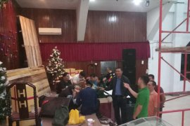 Kapolresta Pontianak kunjungi sejumlah Gereja jelang Natal di Pontianak