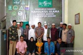 Kapolres silaturahmi dengan PCNU Banjar
