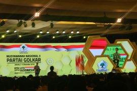 Presiden Jokowi apresiasi kesejukan dalam Munas Partai Golkar