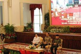 Presiden : narasi besar Pancasila harus banjiri medsos