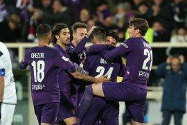 Piala Italia, Fiorentina taklukkan Citadella meski akhiri laga dengan sepuluh pemain