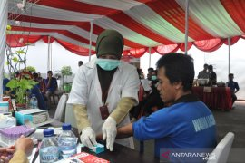 Ratusan warga binaan Lapas Cikarang jalani pemeriksaan virus HIV