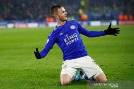 Liga Inggris - Leicester teruskan tren positif usai bungkam Watford 2-0