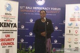 BDF ke-12, Kenya cari dukungan jadi anggota tidak tetap DK PBB