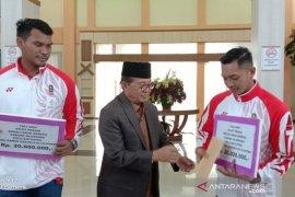 Atlet Jambi peraih emas SEA Games terima tali kasih