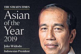 "Jokowi terpilih sebagai  ""The Straits Times Asian of the Year 2019"""