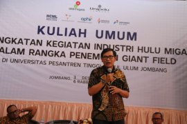 Mahasiswa Unipdu Jombang diedukasi pengelolaan industri hulu migas