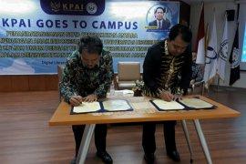 Goes to Campus, KPAI lakukan MoU dengan Unimed