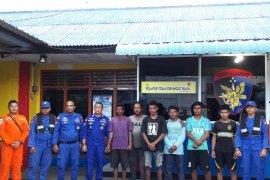 Enam awak kapal karam di perairan Bintan ditemukan selamat