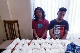 Polisi Denpasar ringkus dua pengedar 33.400 pil koplo