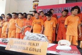 Polres Bogor tangkap 53 tersangka kasus narkoba