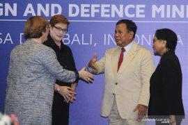 Menhan Prabowo apresiasi kerja sama militer dengan Australia