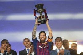 Barcelona ungkap tak lama lagi Messi pensiun