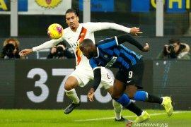 Liga Italia - Inter gagal raih poin penuh saat diimbangi tanpa gol oleh Roma