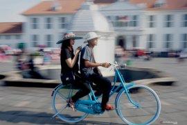 Di jalan umum, Dishub DKI imbau pesepeda gunakan lajur kiri berkendara