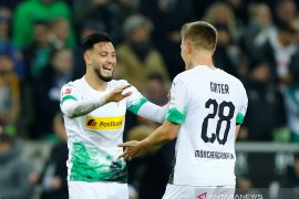 Dua gol Bensebaini bawa Gladbach taklukkan Bayern Munchen