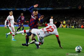 Pelatih Real Mallorca berhati-hati agar tak bikin Messi marah lagi