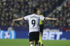 Liga Spanyol: Valencia bangkit kandaskan Levante 4-2