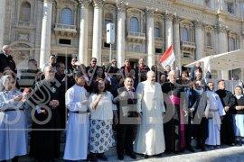 Paus Fransiskus terima rombongan ziarah Sekadau dipimpin Wabup