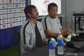 Sampaikan nazar SEA Games 2019, mata Indra Sjafri berkaca-kaca