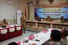 Diskominfo HSS gelar sosialisasi pengamanan informasi media elektronik