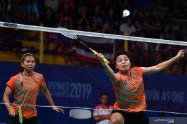 Greysia/Apriyani kalah ketiga pada BWF Finals 2019