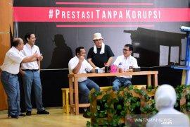 Tiga menteri ikut pentas antikorupsi bernuansa komedi