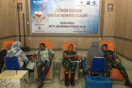 Jasa Raharja Aceh gelar donor darah