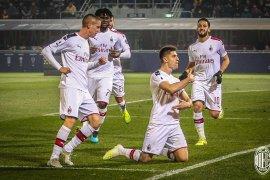 AC Milan lanjutkan tren kemenangan, pukul Bologna 3-2