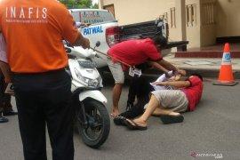 Sembilan polisi penganiaya Zainal Abidin hingga tewas jalani rekonstruksi