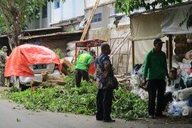 BPBD Kota Kediri hitung kerugian akibat angin kencang