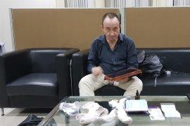 WNA Chile ditahan Polda Bali karena 77,26 gram sabu cair