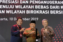 DPMPTSP Sidoarjo raih penghargaan Zona Integritas WBK