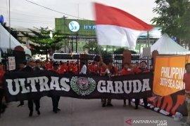 Suporter Indonesia mulai padati Stadion Rizal Manila dukung timnas