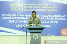 KPPN Tanjung laporkan alokasi APBN 2020 senilai Rp1,28 triliun