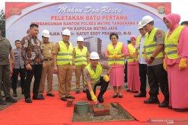 Pemkot Tangerang berikan bantuan pembangunan gedung Polres baru Rp50 miliar