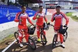 BMX Indonesia terpeleset di Tagaytay