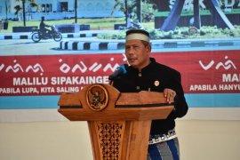 Bupati lantik pengurus Kerukunan Keluarga Sulsel  Kabupaten Kayong Utara