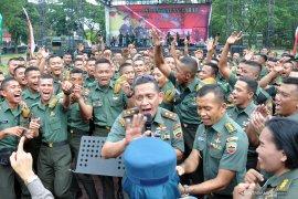Pangdam: Hari juang TNI AD memupuk semangat prajurit
