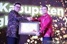 Wabup Bangka bawa pulang penghargaan Top 30 Pengelolaan Pengaduan Pelayanan Publik 2019
