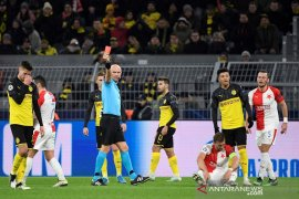 Liga Champions: Bekuk Slavia dengan 10 pemain, Dortmund lolos ke 16 besar