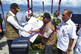 BNPB serahkan Rp93,81 miliar untuk rehabilitasi rumah rusak terdampak gempa di Maluku