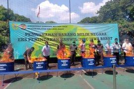 Bea Cukai Jabar musnahkan barang hasil penindakan senilai Rp3,2 miliar