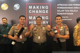 Polres Bangka Tengah raih penghargaan WBK dan WBBM dari Kemenpan-RB