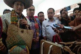 Kerajinan purun Banjarbaru diapresiasi Sandiaga Uno