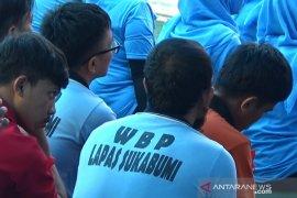 Lapas Nyomplong Sukabumi kelebihan kapasitas dua kali lipat