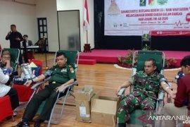 Korem 133 Gorontalo gelar aksi sosial donor darah