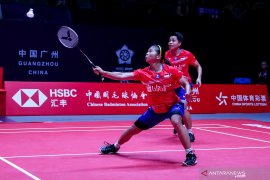 Greysia/Apriyani kalah lagi di penyisihan BWF Finals 2019